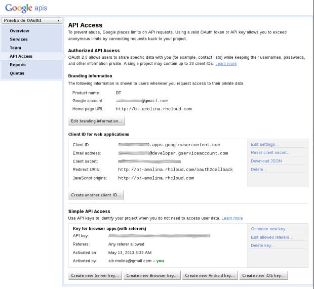 alta en google app